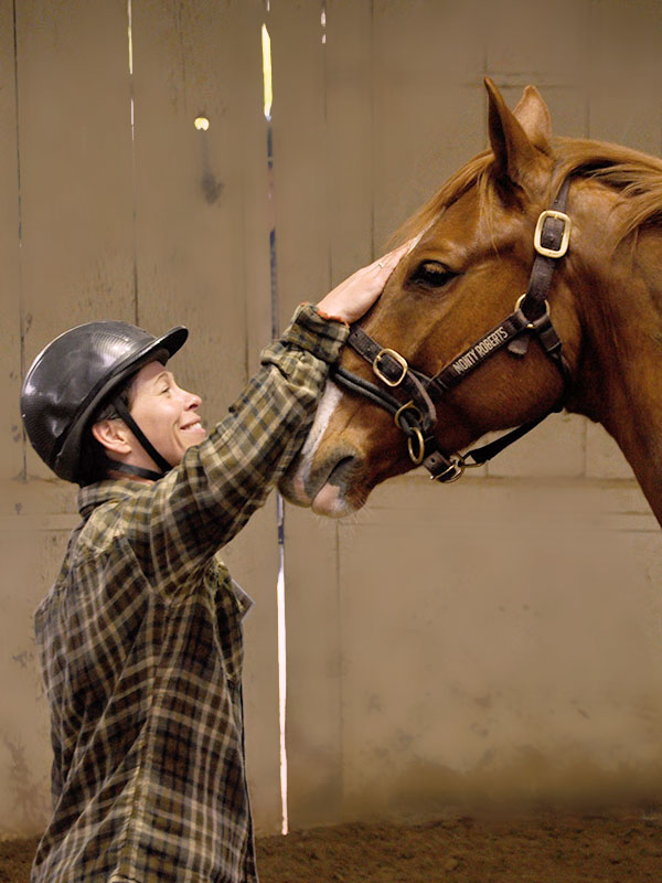 Monty Roberts Horse Sense & Healing for veterans and first responders