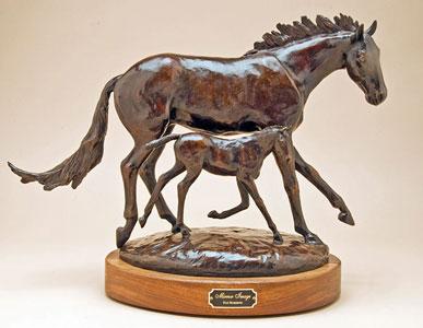 Pat Roberts Sculpture - Mirror Image